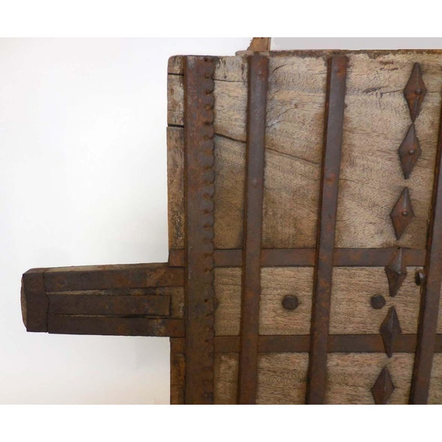 Mid 19th Century Wood and Iron Architectural Element For Sale - Image 5 of 8