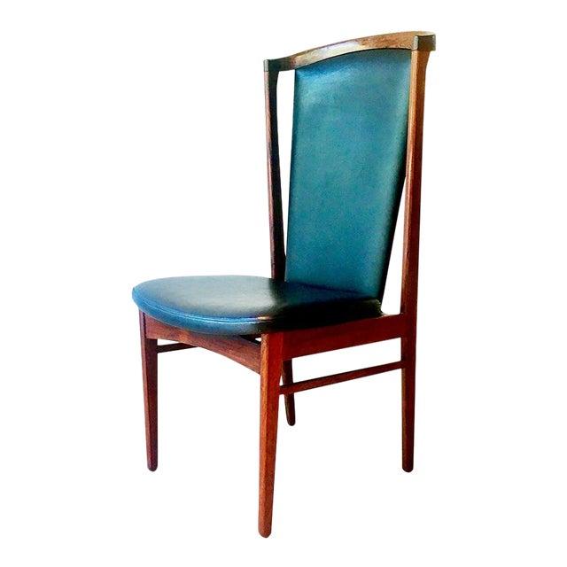 Substantial Danish Eric Buck Designed Desk Chair 1960s For Sale