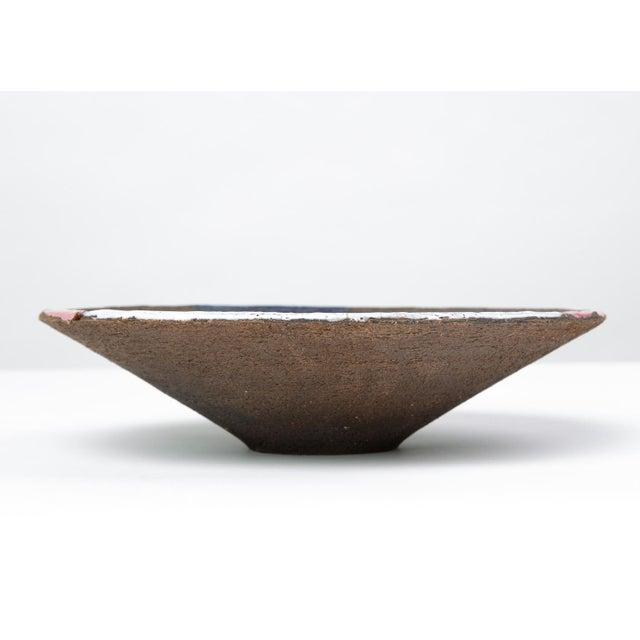Ceramic Bitossi Patchwork Glazed Stoneware Bowl For Sale - Image 7 of 11