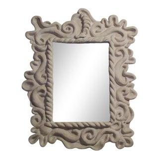 Parisian Barocco Art Deco Mirror Attributed to Serge Roche For Sale