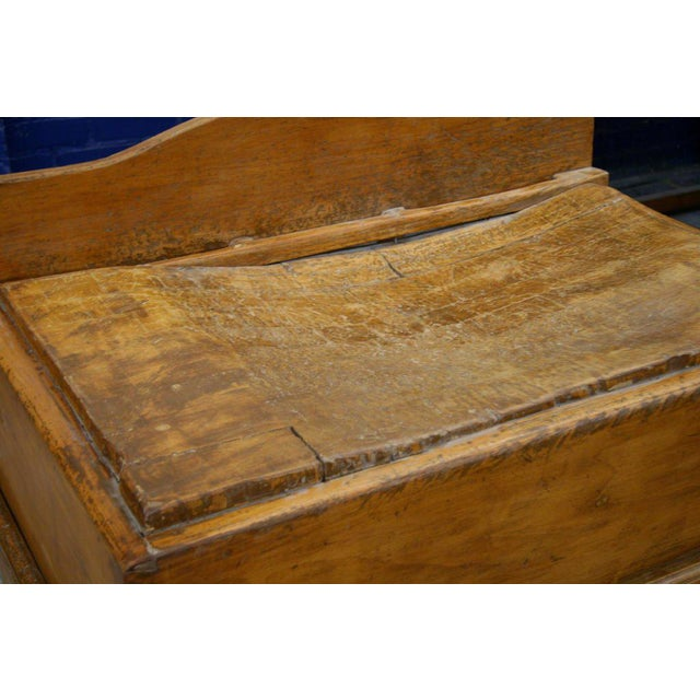Wood Italian 19th C. Butcher Block For Sale - Image 7 of 8