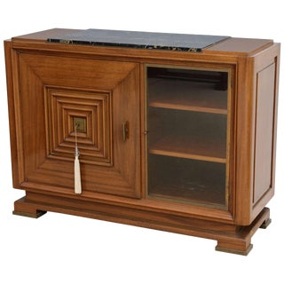 Late Art Deco Mahogany Credenza, Maxime Old For Sale