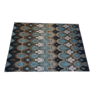 Adrienne Ikat Indoor Outdoor Rug-8 X 11' For Sale