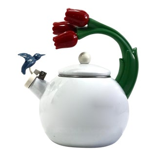 Midcentury Whistling Water Kettle For Sale