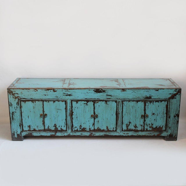 Turquoise Ming Media Cabinet - Image 2 of 5