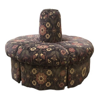 Banquet Center Back Upholstered Ottoman For Sale