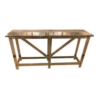 Contemporary Lowell Console Table For Sale