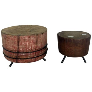 Chopping Block Cocktail Tables For Sale