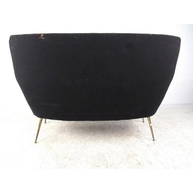 Exquisite Italian Modern Loveseat after Marco Zanuso - Image 5 of 11