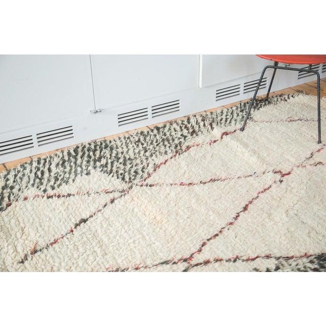 "Vintage Moroccan Carpet - 5'6"" X 8'3"" - Image 9 of 10"