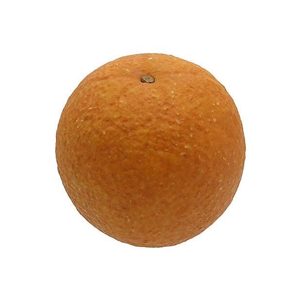 Italian Mid-Century Italian Alabaster Orange For Sale - Image 3 of 4