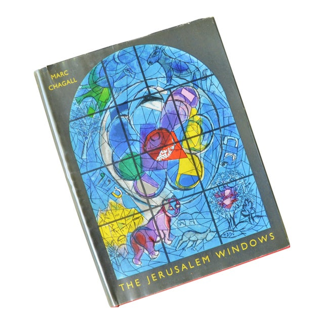 Marc Chagall the Jerusalem Windows Hardback First Edition Book For Sale