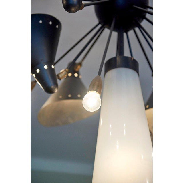 Rare & Documented Claude Ferré Chandelier for the Casino De Royan, France, 1949 For Sale - Image 10 of 12