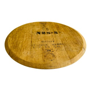 French Wine Cask Lazy Susan For Sale