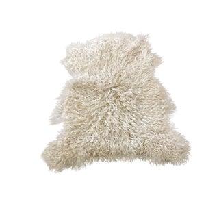 Anatolian Sheepskin Rug - 2′11″ × 3′5″ For Sale