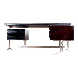 Desk by Gianni Moscatelli for Formanova Italy 1970 With the Two Keys