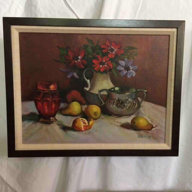 This set of three fruit still life paintings are painted by Sacramento's own Fran King. Fran was born and raised in an...