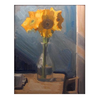 """""""Sunflowers"""" Original Oil Painting For Sale"""