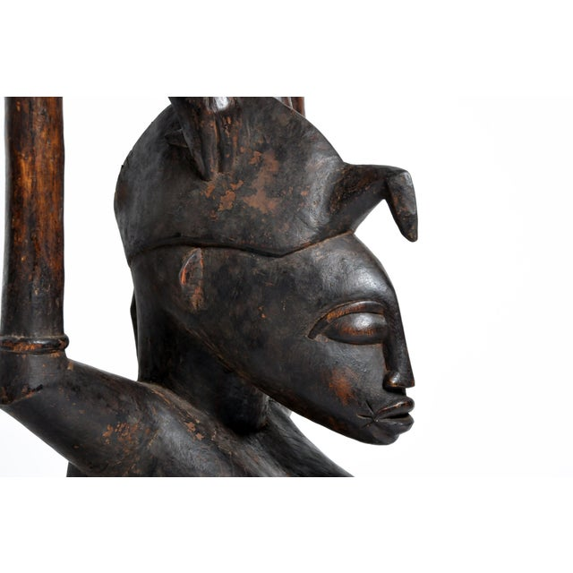 Small Yoruba Figure of a Woman Sculpture For Sale - Image 12 of 13