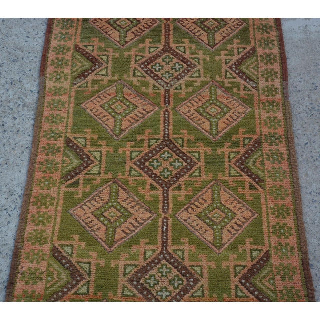 Size: 2' x 8'4 Feet. This is a nice Turkish vintage kilim/ rug Runner in a good condition and ready to use. This runner...