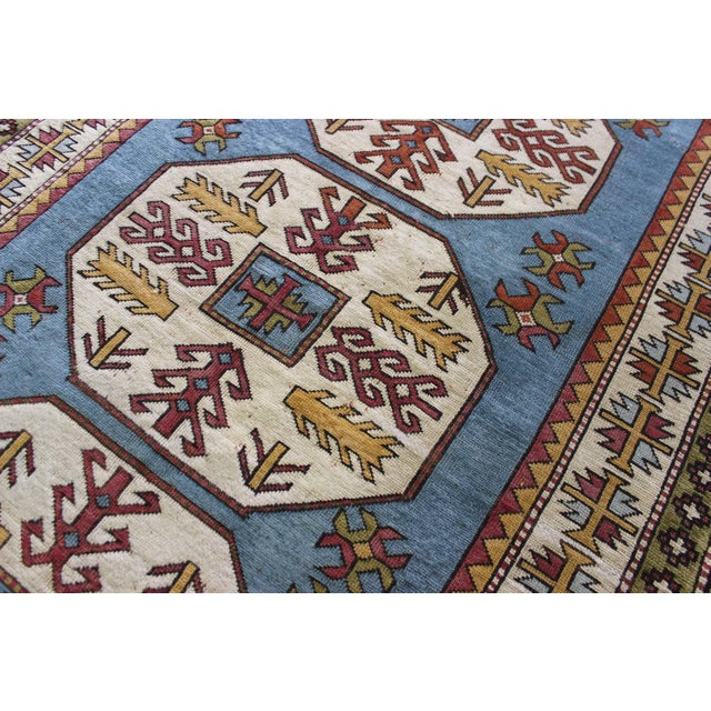 "Turkish Anatolian Area Rug - 5'2"" X 8'1"" - Image 4 of 7"