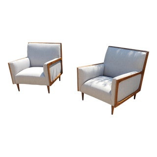 Mid Century Modern Style Lounge Chairs - a Pair For Sale