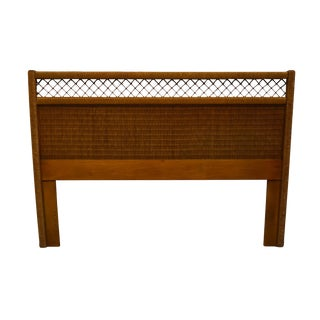 Lexington / Henry Link Wicker Collection Queen Size Headboard 255-110 For Sale