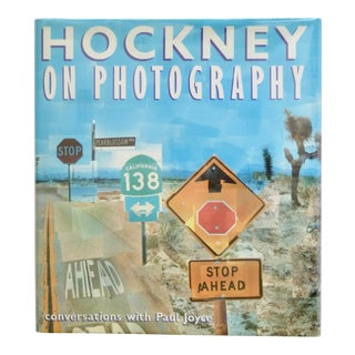 Hockney on Photography, 1st Printing Book For Sale
