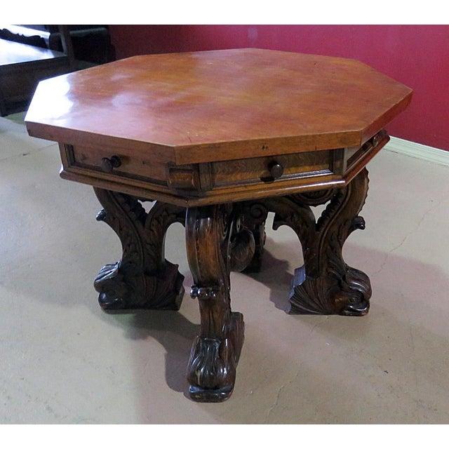 Renaissance Renaissance Style Center Table For Sale - Image 3 of 7
