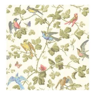 Cole & Son Winter Birds Wallpaper Roll - Multi-Coloured For Sale
