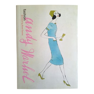 """ Andy Warhol Fashion "" Early Work Fashion Illustrations Vintage Art Book For Sale"