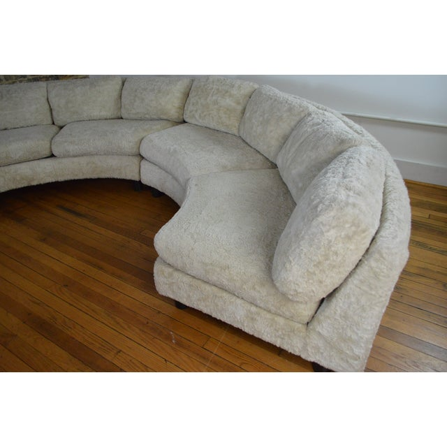 Amazing Milo Baughman Mid Century Modern Sectional Pit Sofa For Sale - Image 6 of 10