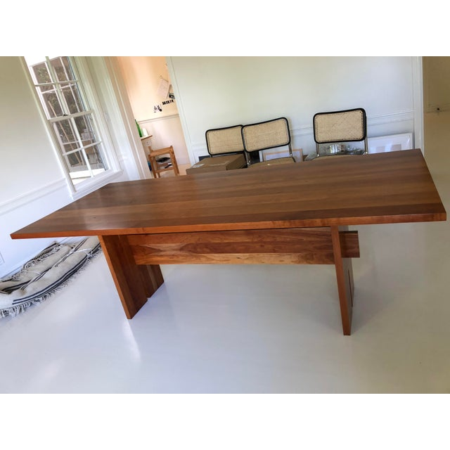Room & Board Room and Board Cherry Dining Table For Sale - Image 4 of 4
