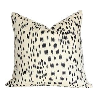 Les Touches Black Pillow Cover