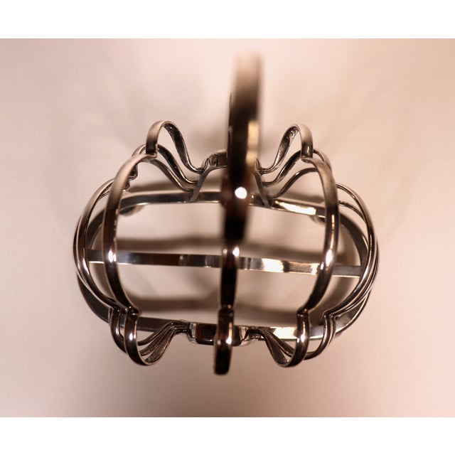 1950's English Silver Plated Toast Rack For Sale - Image 11 of 13