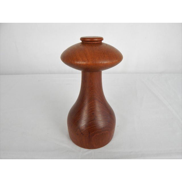 Wood Jens Quistgaard for Dansk Peppermill For Sale - Image 7 of 10