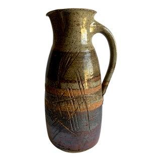 Studio Ceramic Pitcher For Sale