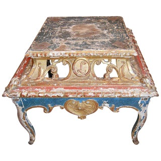 18th Century Louis XV Presentation Dessertiere Table