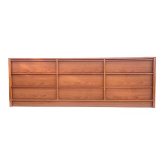 Mid-Century Teak Bedroom Dresser by Feldballes Mobelfabrik For Sale