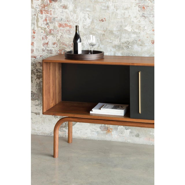 Not Yet Made - Made To Order Gatsby Credenza in Walnut For Sale - Image 5 of 7