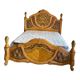 Aico Furniture Trevi Collection King Bed For Sale