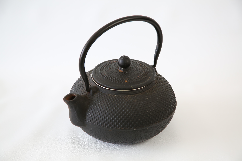20th Century Japanese Cast Iron Teapot Chairish