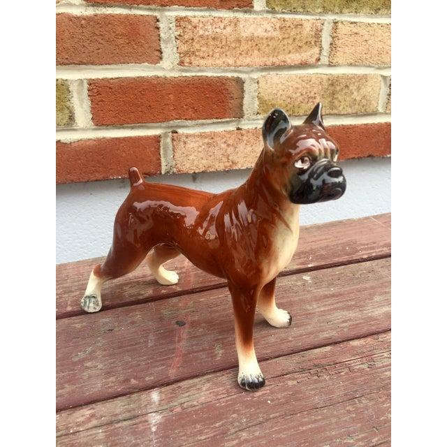 1950s Vintage Boxer Dog Figurine - Image 5 of 5