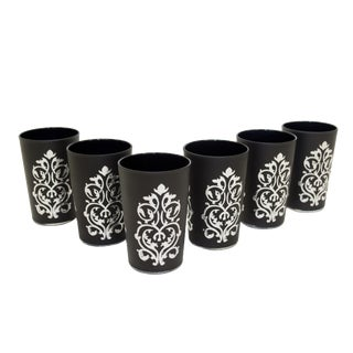 Imilchil Black Tea Glasses - Set of 6 For Sale