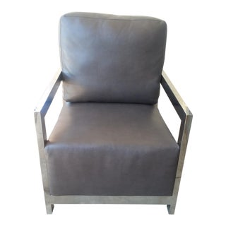 New Mid-Century Modern Milo Baughman Style Side Chair