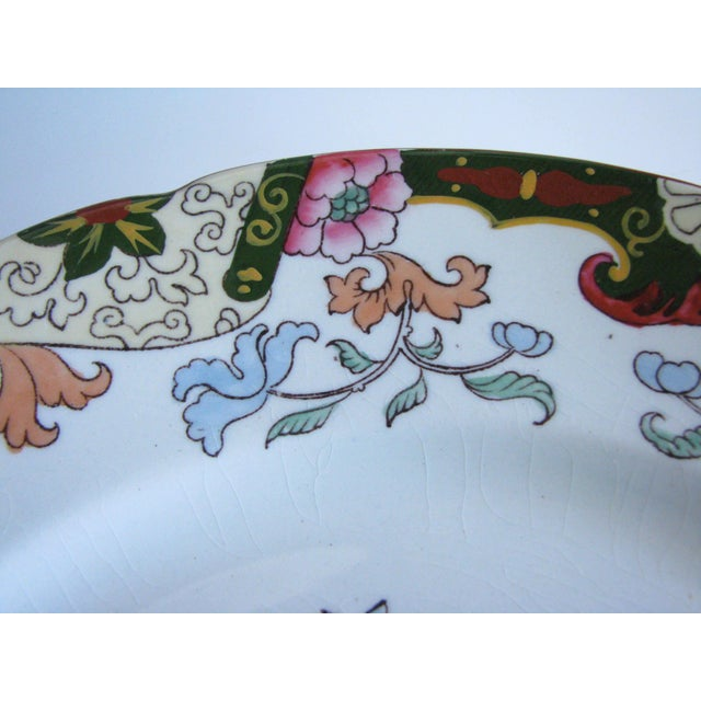 1900 - 1909 Antique Ashworth Brothers Hanley English Dinner Plates - Set of 5 For Sale - Image 5 of 10