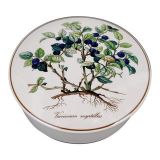 Villeroy and Boch Botanica Trinket Dish With Lid For Sale