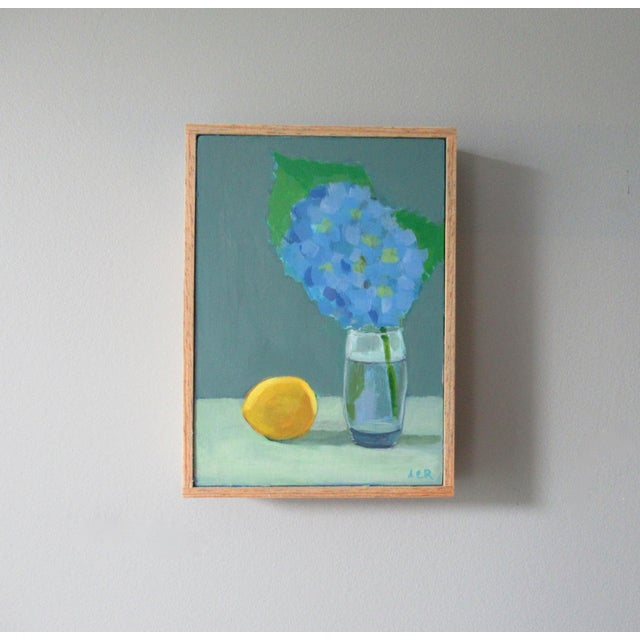 Anne Carrozza Remick Hydrangea and Lemon by Anne Carrozza Remick For Sale - Image 4 of 5