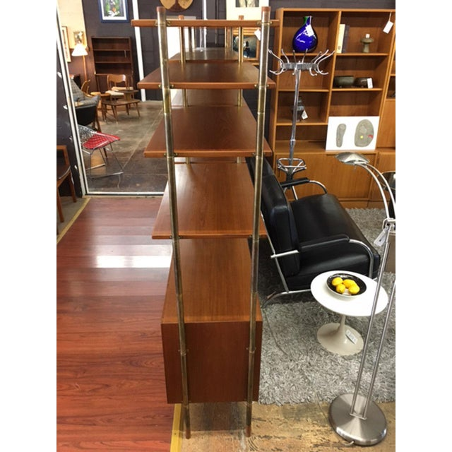 bookcase s vintage display french cabinet side brass table retro