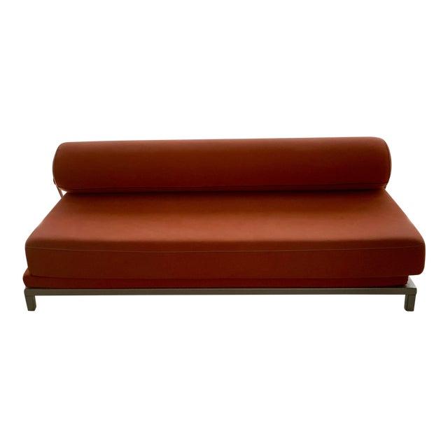 Dwr Twilight Sleeper Sofa Orange | Chairish